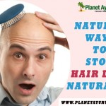 how to stop hair lose naturally