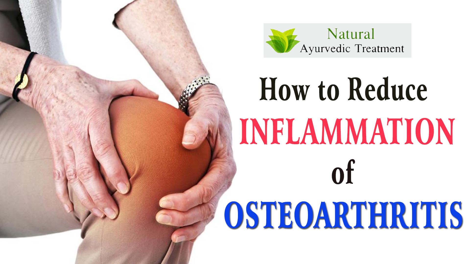 How to Reduce Inflammation of Osteoarthritis?